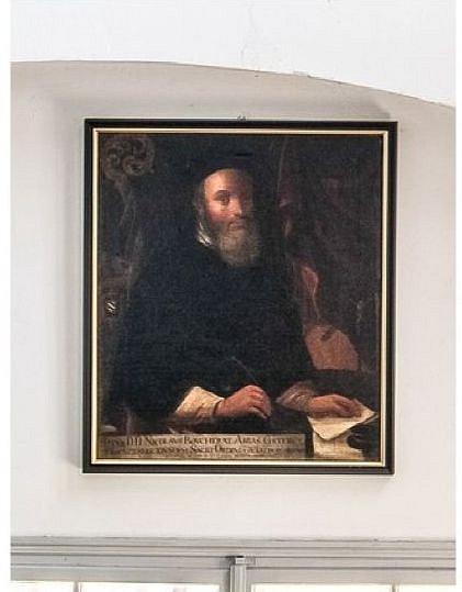 Obraz ukradený zoseckého kláštera.