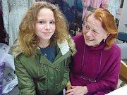 Iva Janžurová zapózovala i Renatě Mrockové z Dubí.