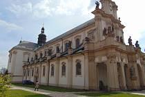 Cisterciácký klášter v Oseku.