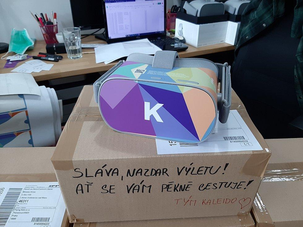 Projekt Kaleido přináší do domovů pro seniory možnost cestovat pomocí virtuální reality. Ilustrační foto.