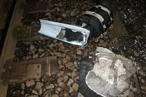 Past na kolejích: Osobní vlak naštěstí nevykolejil