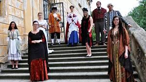 Historie módy na zámku v Duchcově