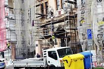Rekonstrukce fasády Okresního soudu.