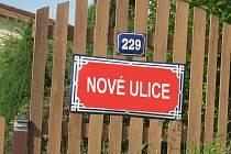 Ilustrační snímek, nové názvy ulic.