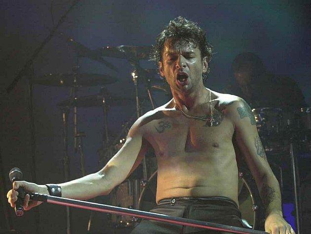 Zpěvák kapely Depeche Mode David Gahan