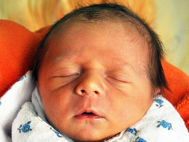 ONDŘEJ KUFNER se narodil Romaně Kufnerové z Teplic 15. prosince v 17.18 hod. v teplické porodnici. Měřil 46 cm a vážil 2,49 kg.