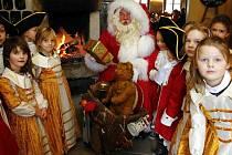 Na pevnosti Königstein bydlí jeden Weihnachtsmann
