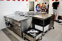 Slavnostní otevření nové školní jídelny v Proboštově.