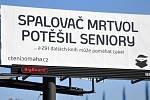 Billboard propagující neziskové projekty