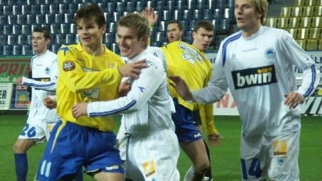 Z utkání FK Teplice