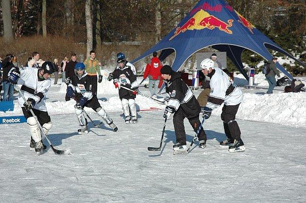Na akci Red Bull Open Ice přišlo na tři sta lidí