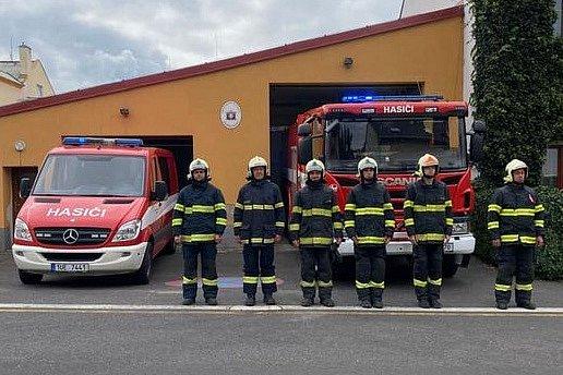 Dobrovolní hasiči Zabrušany.