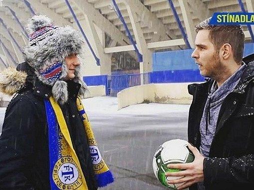 ŽONGLY. Alex Král a Fanda Bílek vpátém dílu projektu FK Teplice.