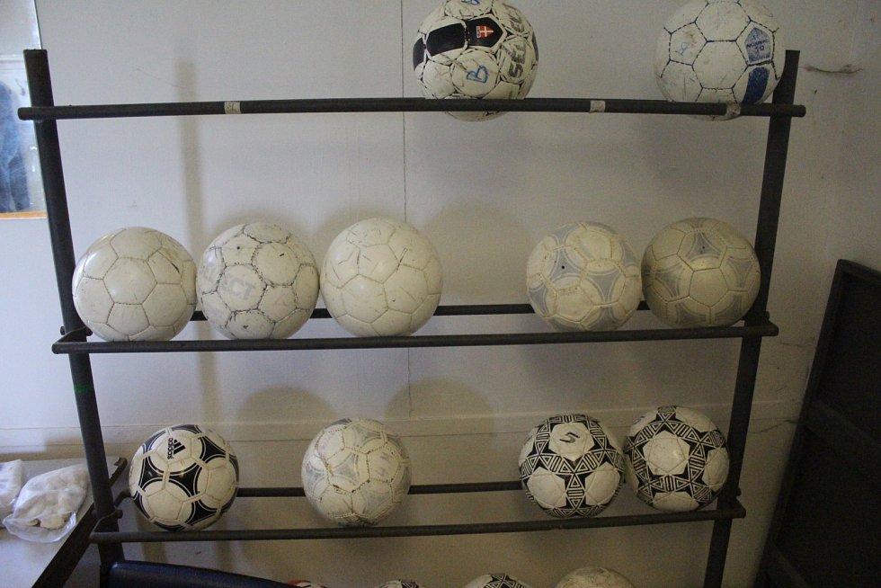 Na fotbale v Bořislavi