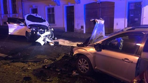 Nehoda Pod Doubravkou v Teplicích