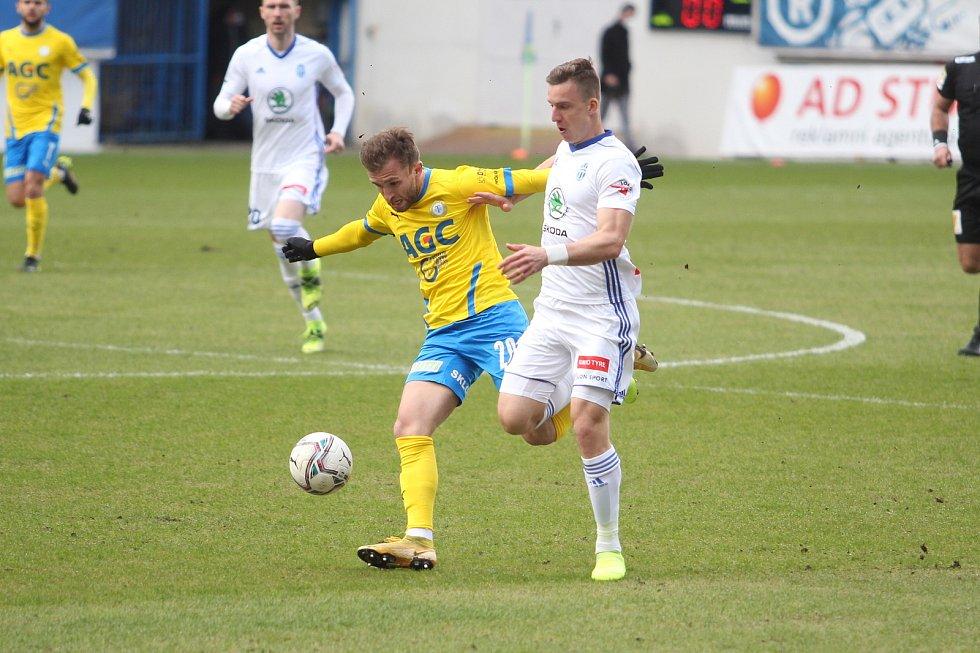 Teplice v poháru vyřadily Mladou Boleslav a jsou v semifinále.