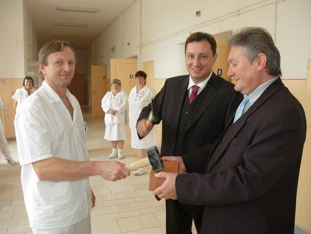 Zahájení rekonstrukce ortopedie v teplické nemocnici