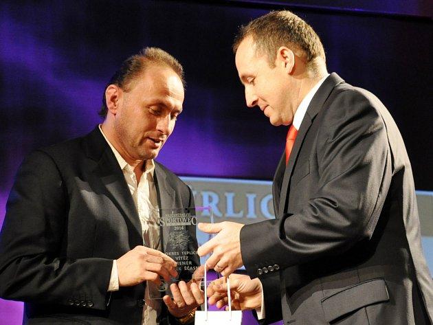 Pavel Verbíř (vlevo) vyhrál anketu nejčastěji.