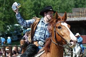 V Přítkově na ranči se v sobotu 9. května 2011 konalo westernové rodeo.