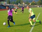 Po výborném výkonu si z okresního derby zaslouženě odnesli tři body fotbalisté Modlan.
