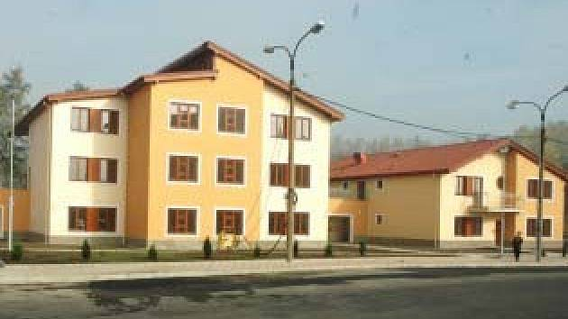 Dům s pečovatelskou službou v Košťanech.
