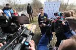 David Vencl v Lahošti při pokusu o světový rekord a zápis do Guinnessovy knihy rekordů.
