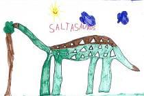 Dino soutěž – Nakresli svého dinosaura