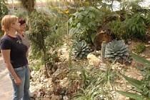Otevírání teplické botanické zahrady.
