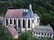 Krupka, historická část města.
