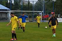 Advokáti ze severu Čech hráli fotbal v Ostravě
