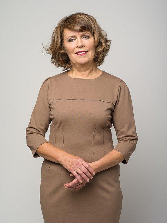 Milena Luňáková po proměně.