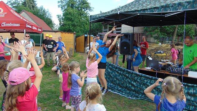 Dětský den Stáje U Kaštánka v Proboštově