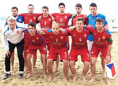 Český reprezentační tým v plážové kopané