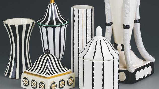 Výstava keramiky značky Graniton ze soukromé sbírky Jiřího Hořavy v teplickém muzeu. K vidění je až do 5. května.