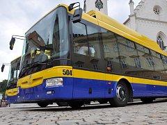 Hybridní trolejbusy již zkouší v Teplicích.