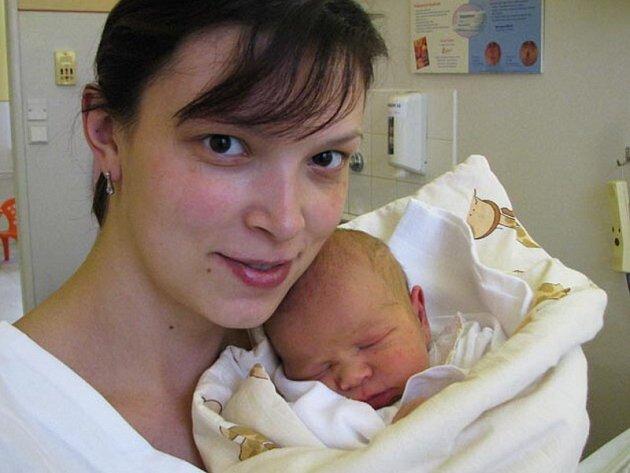 Maminka Michaela Košťáková se synem Davidem