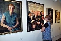 Výtvarná dílna k  výstavě Umění v nouzi!? v teplickém muzeu.