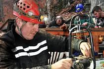 Ve štole proběhlo setkání majitelů hornických svítidel