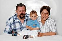SOUČASNOST. Pavla Onuferová s rodinou