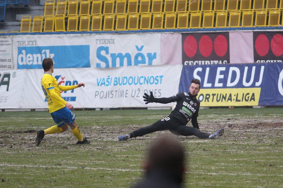 V poháru porazily Teplice Brno 2:0 a jsou ve čtvrtfinále.