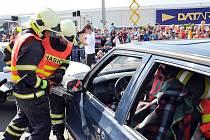 Den prevence před OC Olympia v Teplicích. Archivní foto