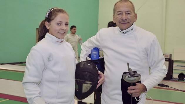 Aneta Kmečová a Jaroslav Kubera