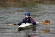 Zahájení vodácké sezony, řeka Bílina