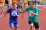 Sportovní hry mládeže 2019 všech krupských škol na tamějším městském stadionu.