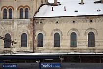 Nádraží Teplice v Čechách.