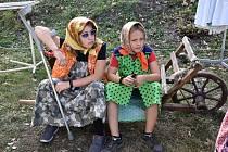 V Hrobu u Zbořeniště se v sobotu odpoledne uskutečnila akce s názvem Babí léto.