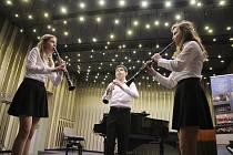 Koncert studentů ZUŚ. Ilustrační fotografie.