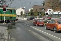 Přejezd v Přítkovské ulici v Teplicích
