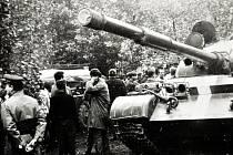 Srpen 1968 v Teplicích.