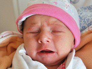 Štěpánka Binderová se narodila Lucii Binderové z Duchcova 11.  prosince  v 8.19 hod. v teplické porodnici. Měřila 46 cm a vážila 2,48 kg.